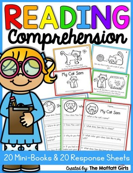 Reading Comprehension Packet! | Distance Learning