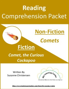 Reading Comprehension Packet C for Grades 5-6