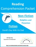 Reading Comprehension Packet D for Grades 5-6