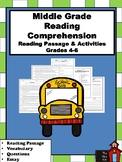 Reading Comprehension Packet- Grades 4-6