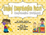 Reading Comprehension Packet {Graphic Organizer Worksheets}