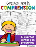 Reading Comprehension Packet (SPANISH) | DISTANCE LEARNING