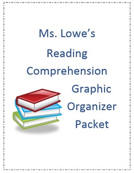Reading Comprehension Packet of 17 Graphic Organizers!