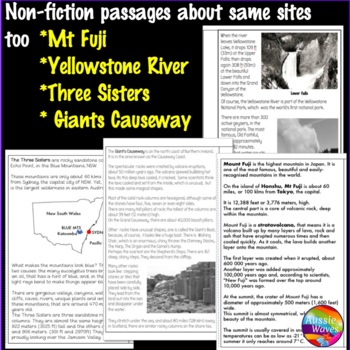 Reading Comprehension Paired Text Activities Myth and Factual BUNDLE