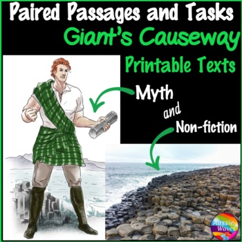 Reading Comprehension Paired Texts: Giant's Causeway Myth and Information