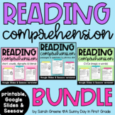Reading Comprehension Passage Bundle - Distance Learning
