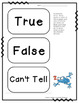 Reading Comprehension Passage : Freddie Frog and Peter Polliwog Accountable Talk