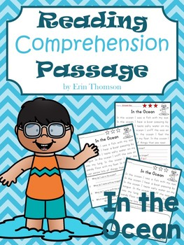 Reading Comprehension Passage ~ In the Ocean