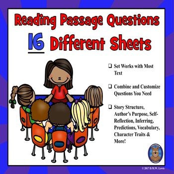 Customize Reading Comprehension Passages with Questions