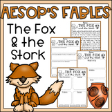 Reading Comprehension Passage & Questions 2nd Grade The Fox and the Stork