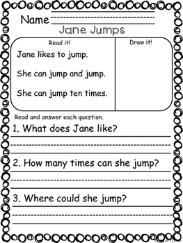 Reading Comprehension Passage - Set 1