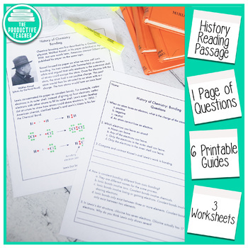 Reading Comprehension Passage and Questions: History of Chemistry Bonding