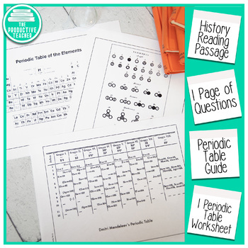 Introduction to Chemistry: The Periodic Table Reading Passage