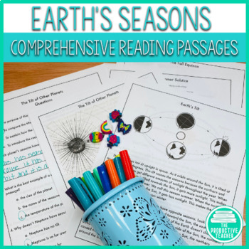 Reading Comprehension Passage and Questions: Science of Earth's Seasons