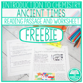 Introduction to Chemistry: Ancient Times Reading Passage