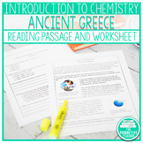 Introduction to Chemistry: Ancient Greece Reading Passage