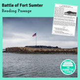 Reading Comprehension Passage and Questions: The Battle of Fort Sumter