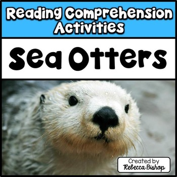Reading Comprehension Passages Sea Otters