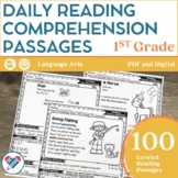 Reading Comprehension Passages 1ST GRADE