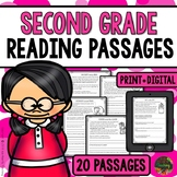 Reading Comprehension Passages & Questions (Second Grade)