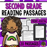 Reading Comprehension - Second Grade Reading Passages & Comprehension Questions
