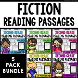 Second Grade Reading Comprehension Passages and Questions (Bundle)
