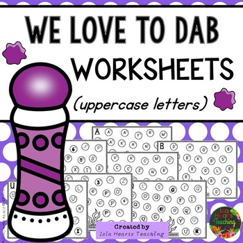 Letter Identification Worksheets