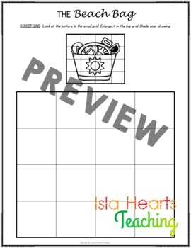 Busy Work: Enlargement and Scaling Pictures (SUMMER)