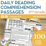 Reading Comprehension Passages 2ND GRADE