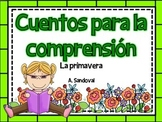 Reading Comprehension Passages #3 in Spanish comprensión