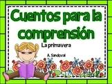 Reading Comprehension Passages #3 in Spanish comprensión