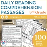 Reading Comprehension Passages 3RD GRADE DISTANCE LEARNING