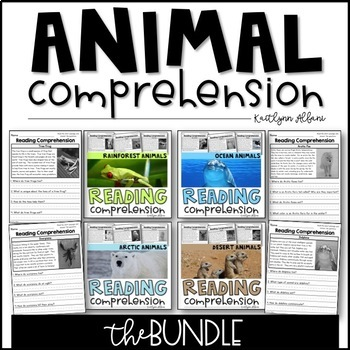 Reading Comprehension Passages - ANIMALS