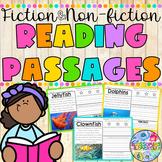 FICTION and NON-FICTION Reading Passages {BUNDLE}