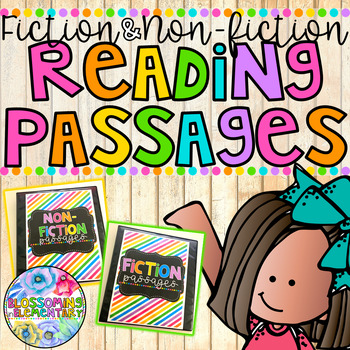 FICTION and NON-FICTION Reading Passages {BUNDLE}