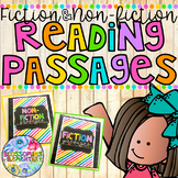 FICTION and NON-FICTION Reading Passages
