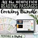 Reading Comprehension Passages BUNDLE   Upper Elementary 6