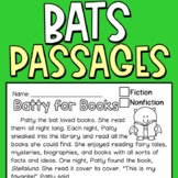 Bats Reading Comprehension Passages FREEBIE