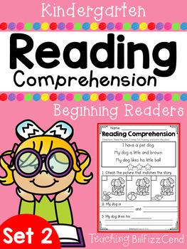 Kindergarten Reading Comprehension (SET 2)