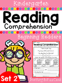 Reading Comprehension Passages For Beginning Readers (SET 2)