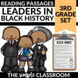 Reading Comprehension Passages and Questions | Black History Month
