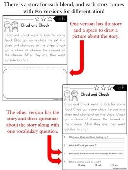 Reading Comprehension Passages ~ Blends
