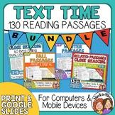 Reading Comprehension  Passages Bundle - 130 Close Reading