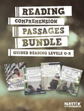 Reading Comprehension Passages Bundle: Guided Reading O-R - Distance Learning