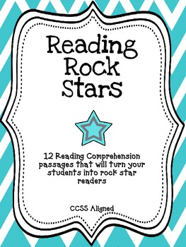 Reading Comprehension Passages {CCSS Aligned}