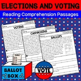 Reading Comprehension Passages - CIVICS - Elections and Voting