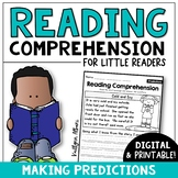 Reading Comprehension Passages - Making Predictions | Digital Distance Learning