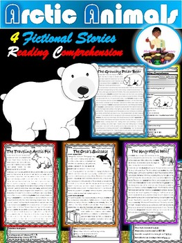 Arctic Animals Reading Comprehension Passages - Fictional Close Reading Passages
