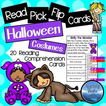 Halloween Activities: Halloween Reading Comprehension Passages