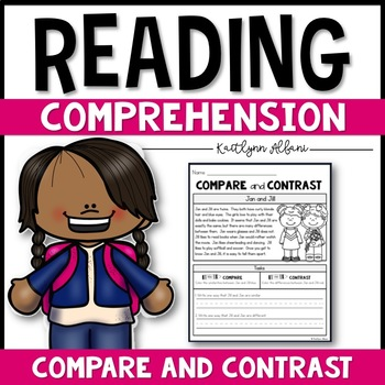 Reading Comprehension Passages - Compare and Contrast